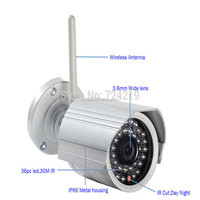 outdoor use Support p2p wireless ip camera 1080p hd wifi ip camera with sd card slot