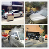 CE 2 guns 30 bar diesel steam car wash machine price/steam automatic car wash prices