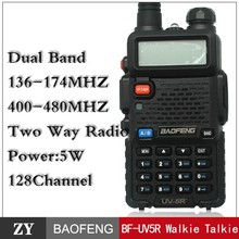High Quality VHF radio TWO WAY RADIO BAOFENG uv5r mobile phone transceiver 100 mile walkie talkie