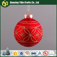 For your selection christmas ball ornament wholesale shatterproof
