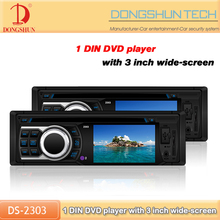 cheap price auto 1 din 3 inch car dvd with parking systerm