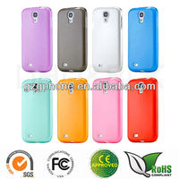 Factory Soft Gel Skin Glossy TPU Case Cover for Samsung Galaxy S4 IV i9500