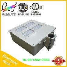 UL cUL Area lighting 150W Pole top fixtures LED Retrofit shoe box with 5years warranty