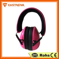 EM002-1 impact sport electronic earmuff, kids winter earmuffs, kids animal earmuffs
