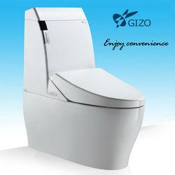ceramic Bathroom on line shopping /Intelligent One piece toilet