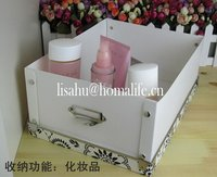 Transparent clear pet folding boxes with divider