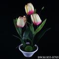 flor del tulipán artficial verdadero toque de flores