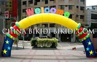inflatable arch with slogan,inflatable arches