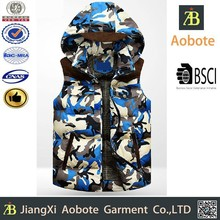 2015 camouflage style outdoor durable short vests