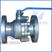 API floating brass ball valve with lock