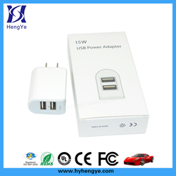 Mobile phone portable usb travel charger, portable usb travel charger for smartphone, super fast portable usb travel charger