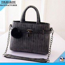 custom lady bag chain bag wholesale fashion design women handbag nubuck leather women shoulder bag