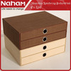 NAHAM Household Organizer Two-layers Woven Paper Storage Box