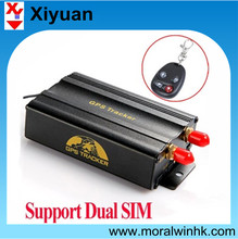 TK103 gps tracker remote engine stop support gprs google map online gps tracking