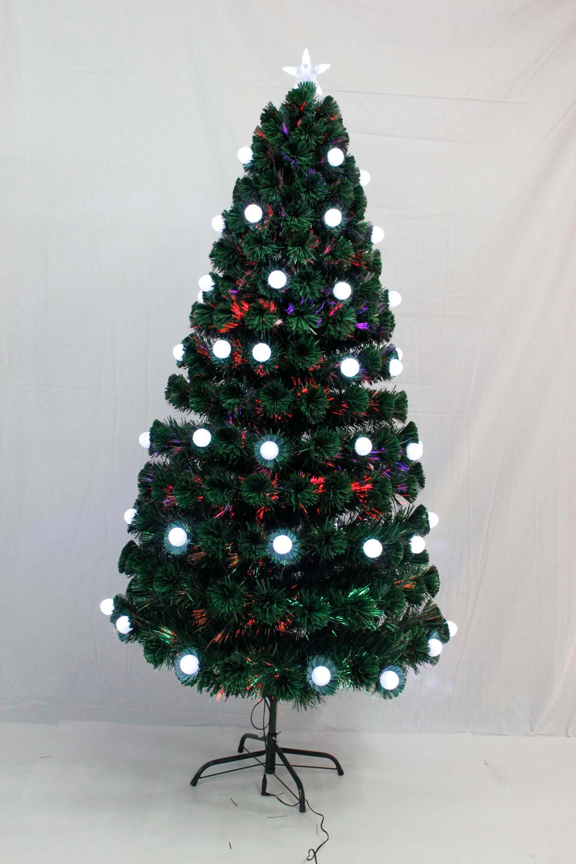 xibao brand 5ft150cm 4 kinds of color lights fiber optic 7 mini led - Kinds Of Christmas Trees