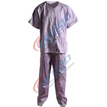 cotton safety white doctor uniform