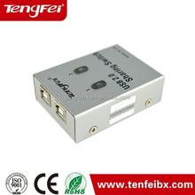 china manufacturer USB 2.0 Auto Sharing Manual Switch