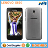 Mobile Phone For Latin America Lenovo Smart Phone Latest China Phone Quad Core 4.7 Inch IPS Android 4.2 Lenovo S660 Cell Phones