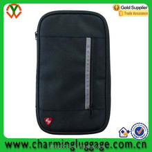 fancy custom personalized passport holder/wallet travel document organizer bag