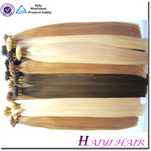 Hot Selling Good Feedback Virgin Remy hot fusion remy hair extensions