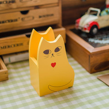 Large grocery zakka creative thinking cat pen holder creative home crafts ornaments D0314 Desktop