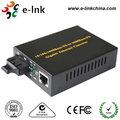 1000M solo- de modo individual- ethernet de fibra convertidor de los medios de comunicación con dos interfaz de automatización