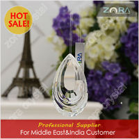 Machine cut cut glass crystal pendants for Middle East&India