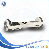 Adjustable factory smart 2 wheels powered unicycle self balance scooter with Colorful LED light