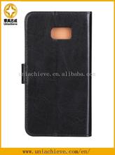 High Quality case for Samsung S6 edge, PU leather phone case for Samsung S6 edge plus