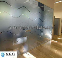 Excellence quality office partition with glass