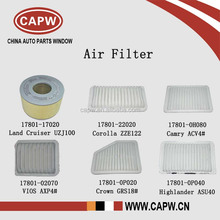 High Performance Toyota Air Filter for Land Cruiser/Corolla/Camry/Vios/Crown/Highlander Car Spare Parts