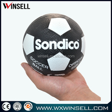 2015 lowest price size 2 rubber soccer ball, rubber ball size 2
