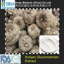 Professional Manufacturer 95% Natural Konjac Glucomannan Extract Powder