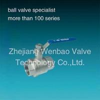 WB-24 2-piece Insulation Heating ball valve ,threaded ends,1000wog