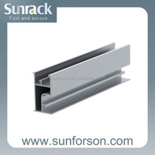 railing system Al6005 solar panel mounting brackets