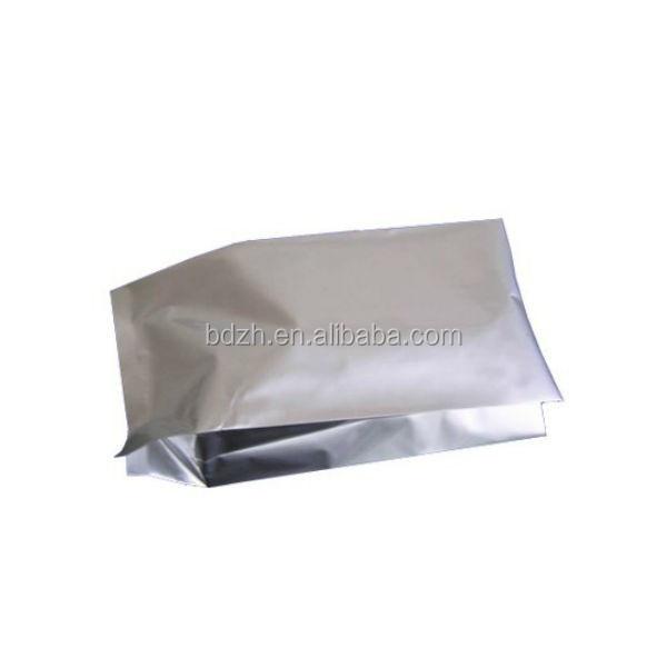 Alimentaire stockage usage Top ouvert emballage en feuille d' aluminium sachets