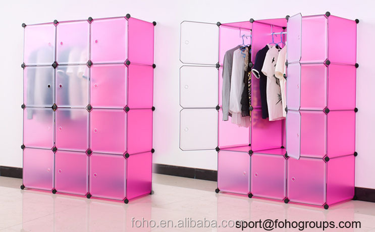Diy cupboard bedroom almirah designs india open plastic cupboard wardrobe fh al0742 12 buy - Almirah designs for clothes ...