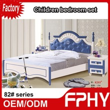 2015 New FPHY 82# series Children bedroom furniture set storage bed