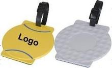 Custom Logo Imprinted Promotional Ball-shaped Luggage Tag