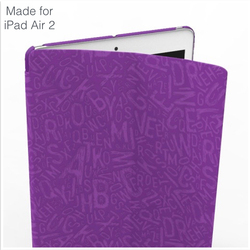 2015 new products leather case cover for iPad Air 2