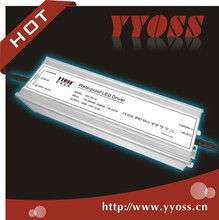 12v/24v waterproof 150w/200w constant voltage led power supply