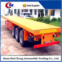 FUWA brand 3axle flatbed trailer frame for sale