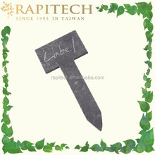 Gardening Plant T Tag Slate Plant Label Natural Stone label T Type Slate Label