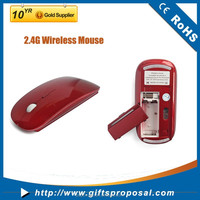 2.4G PMS color mouse Best Selling Customized Logo Wireless Mouse for macebook apple laptop