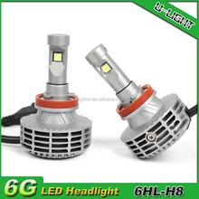 Wholesale Canbus led head light h4 h7 h8 h9 h11 h13 9004 9005 9006 9007 CANBUS car led headlight