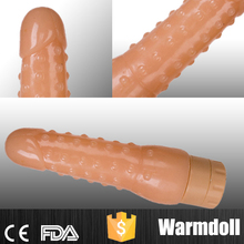 Fake Penis Sex Toy Corn Shape Vibrator Didlo For Sexy Girl