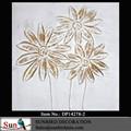 Ainda da fruta pintura a óleo 100% artesanal textura pesada cinza flor casa pintura sobre tela para decoração de casa