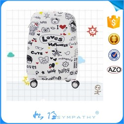 Hot sell style ABS cheap luggage bags polo trolley luggage president luggage