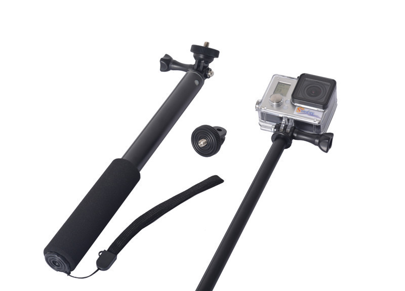 2015 hot gopros camera selfie stick monopod buy aluminum go pro selfie stick monopod go pro. Black Bedroom Furniture Sets. Home Design Ideas