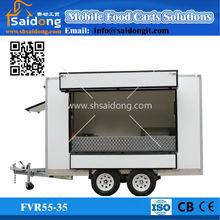 New Style Food Kiosk Mobile food vans for Sale